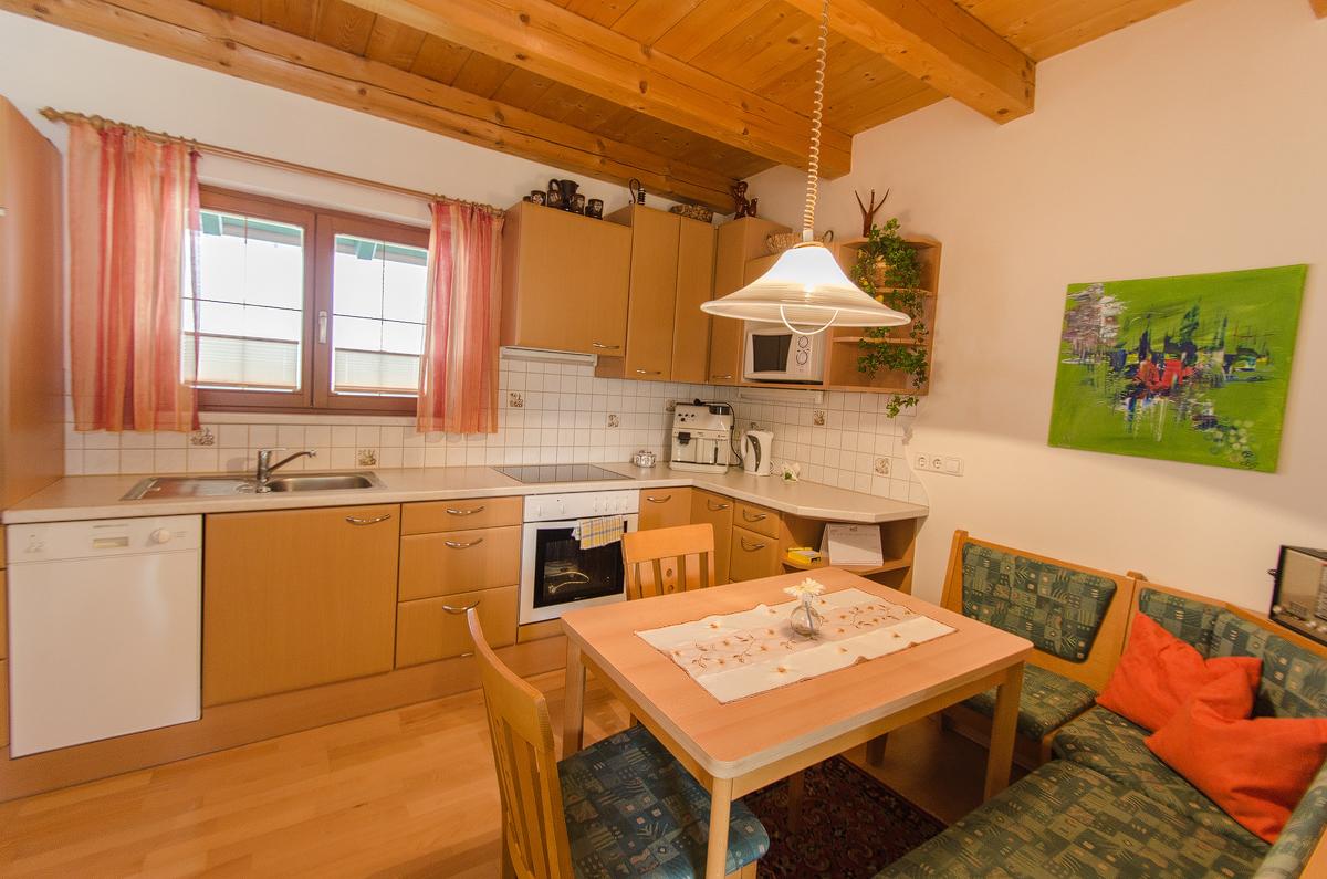 Küche Appartment Schreilechner